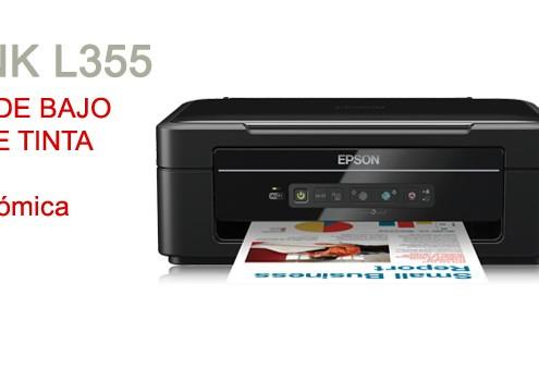 Ecotank L355 - Impresoras de bajo consumo de tinta