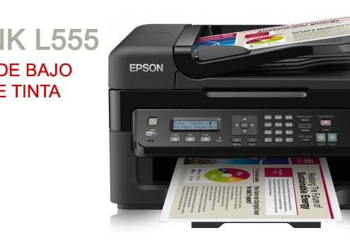 Ecotank L555 - Impresoras de bajo consumo de tinta