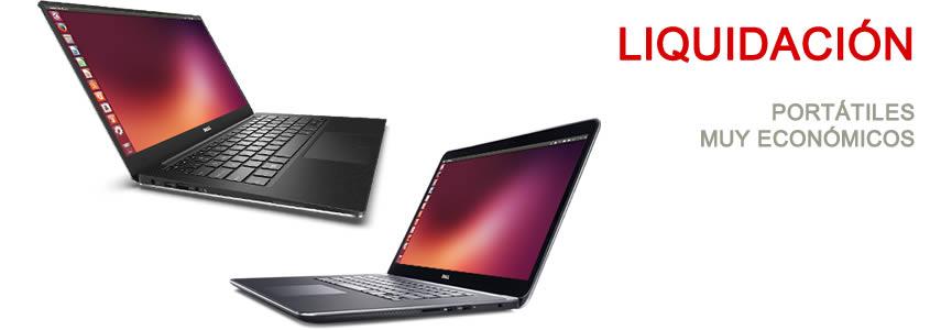 Liquidacion de portatiles muy baratos