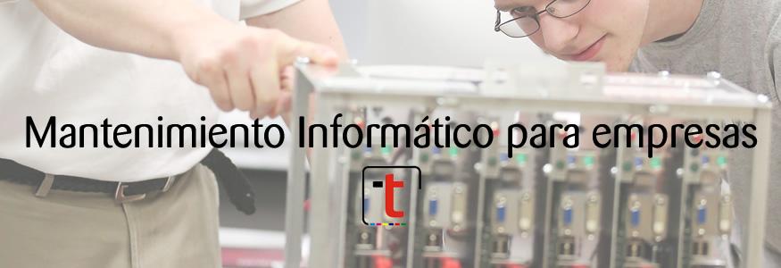 Mantenimiento Informatico para empresas de Toledo