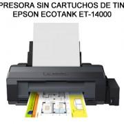 IMPRESORA SIN CARTUCHOS DE TINTA ECOTANK ET-14000