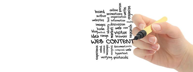 El contenido web