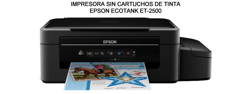 IMPRESORA SIN CARTUCHOS DE TINTA ECOTANK ET-2500