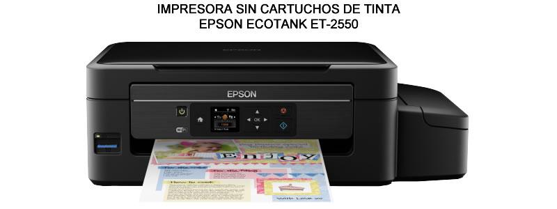 IMPRESORA SIN CARTUCHOS DE TINTA ECOTANK ET-2550