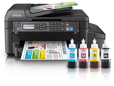 Impresora sin cartuchos de tinta EcoTank ET-4550