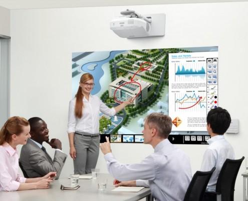Ventajas del proyector como soporte para presentaciones