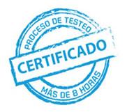 PROCESO DE TESTEO CERTIFICADO