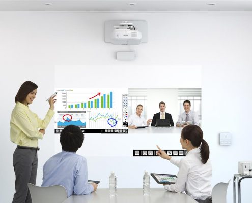 Proyector Interactivo Epson premiado en InfoComm 2015