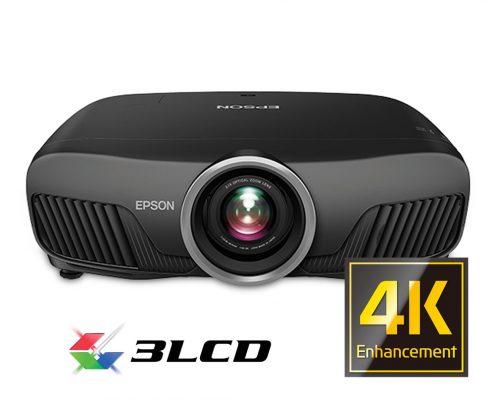 Proyector 4k EH-TW9300. Siente la magia del cine en casa con este proyector con tecnología 4K compatible con HDR que usa tecnología de Epson y tecnología 3LCD.