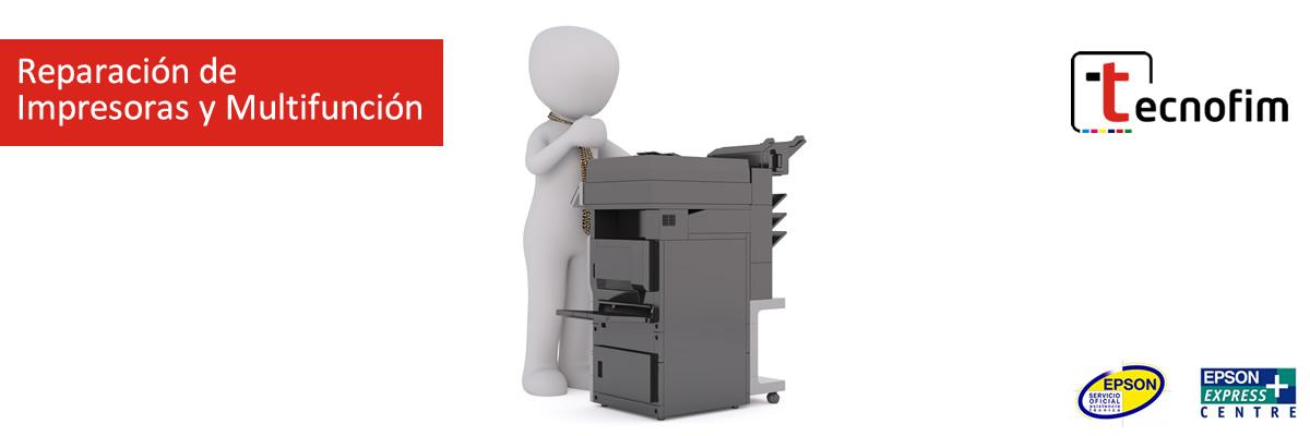 Reparación de impresoras y Multifunción en Toledo