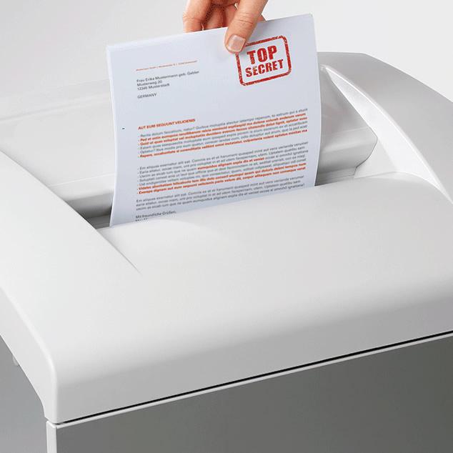 Destructoras de papel y elementos multimedia