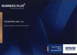 Epson renueva su confianza en Tecnofim como Business Plus+Partner