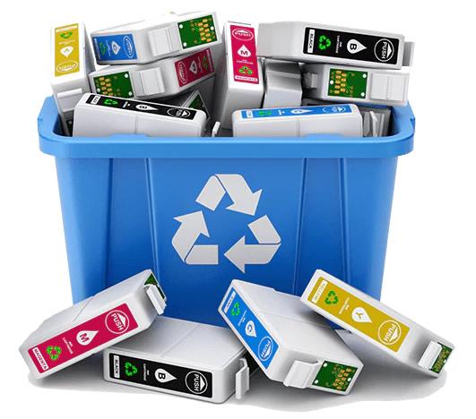 Recicla tus cartuchos de tinta y tóner