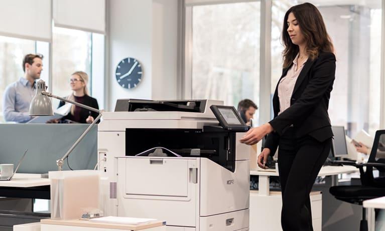 Servicios de mantenimiento de impresoras