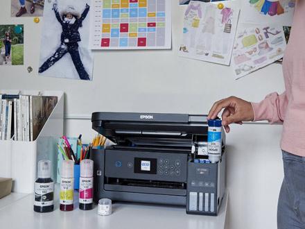 sistemas de impresión ecotank para educación