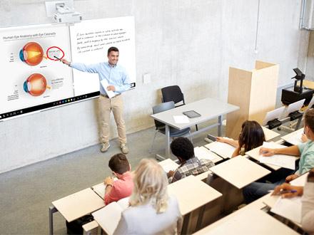 proyección para educación